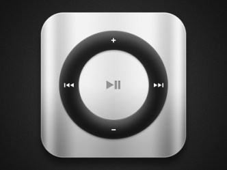iPod Shuffle Icon PSD