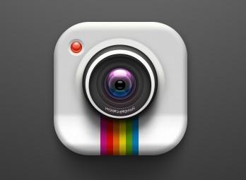 Elegant Camera Lens PSD