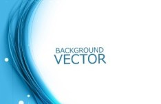 Blue Abstract Backgound Vector 01