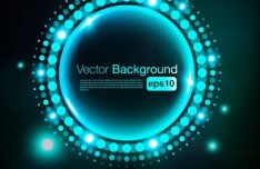 HI-Tech Futuristic Abstract Background Vector 01