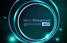 HI-Tech Futuristic Abstract Background Vector 02
