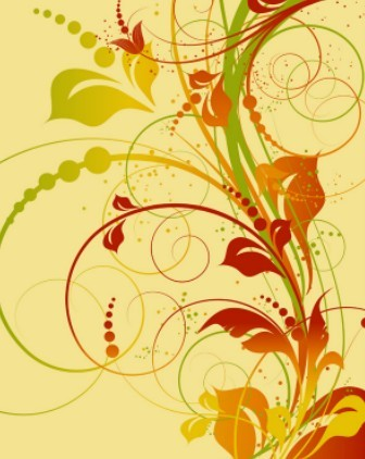 Spring Flowers Vector Illustration 02