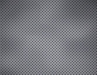Vector Metal Background Texture With Round Holes 01