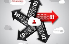 Vector Information Analysis Template For Infographic 01