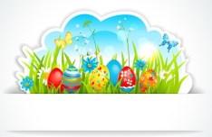 Happy Easter Design Elements Vector 04
