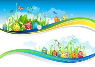 Happy Easter Design Elements Vector 05