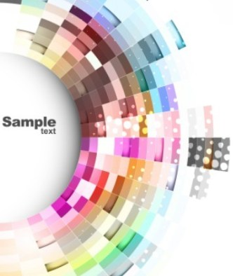 Fashion Abstract Vector Background 07