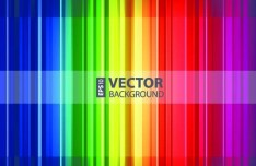 Colored Vertical Stripes Background Vector 01