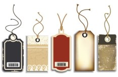 Set Of Creative Pricing Tags 01