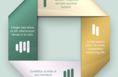 Colored Numeric Labels For Infographic 07
