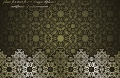 High Quality Vintage Floral Pattern Vector 07