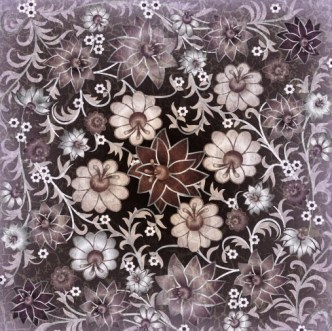 Fantastic Vintage Vector Flowers 03