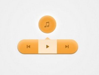 Audio Tooltip UI Elements PSD