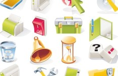 Vector Candy System Icons