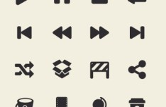 App Tab Bar Icon Set (Retina Ready) 03