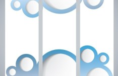 Set of Vector Abstract Geometry Banners 03