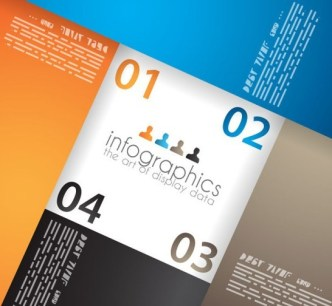 Vector Paper Origami Infographic Option Elements 01