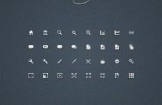 Mini Web Icon Set (AI+EPS+PSD+PNG)