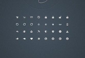 Mini Web Icon Set (AI + EPS + PSD + PNG) 02
