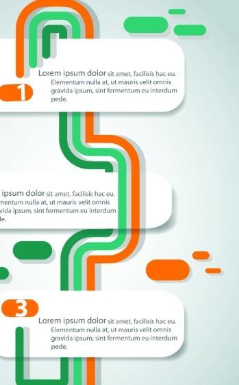 free creative flow chart vector template 01 titanui