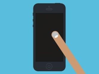 Long iPhone 5 Long Finger Design PSD