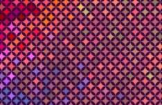 Fashion Shining Mosaic Vector Background 04