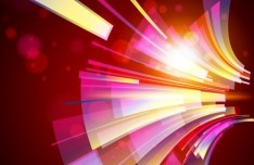 HI-Tech Concept Vector Abstract Lines Background 03