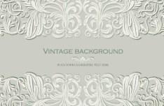 Pastel Vintage Floral Vector Borders and Frames 01