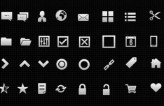 40 High Quality Web UI Icons