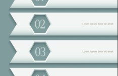 Simple Number Options Vector Labels 05