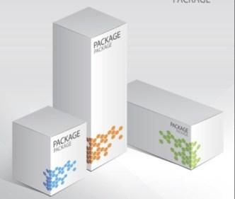 Set Of Vector Elegant Product Packaging Design Templates 03