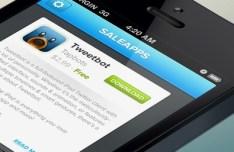 Sale App For iOS UI Kit PSD