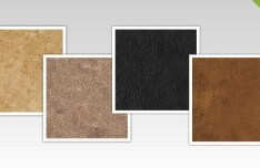 4 Leather Background Textures