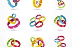 Colorful Vector Creative Icon Set 01