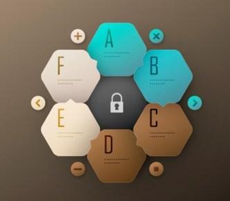 Creative Infographic Label Elements Vector 04