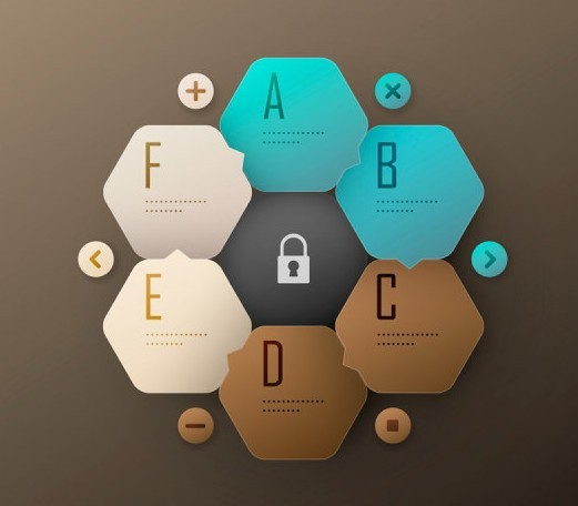 Creative Infographic Label Elements Vector 04
