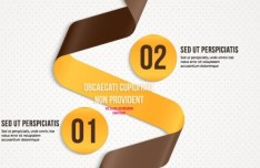 Creative Infographic Label Elements Vector 06