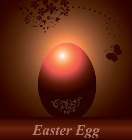 Creative Easter Eggs Vector Design 05
