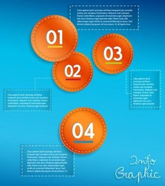 Fashion Vector Infographic Option Elements 04