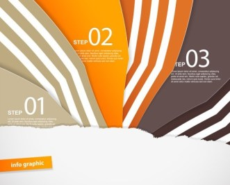 Fashion Vector Infographic Option Elements 05
