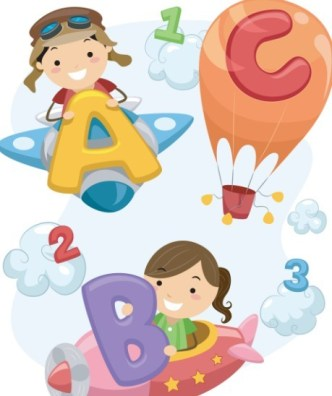 Cute Cartoon Kids Vector Illustration 02