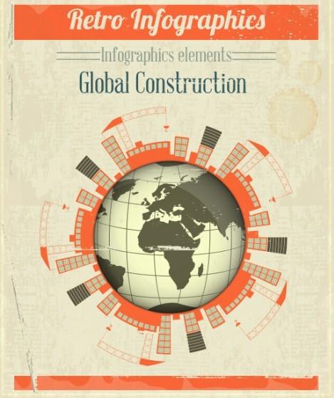 Retor Global Construction Infographic Elements
