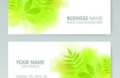 Vector Vertical Business Card Set 02