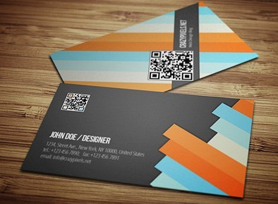 Fashion PSD Business Card Template
