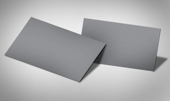 PSD Business Card Mockup (Recto and Verso)