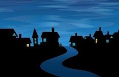 Cartoon Happy Halloween Scary Elements Vector 05