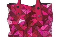 Elegant Pink Handbag Vector