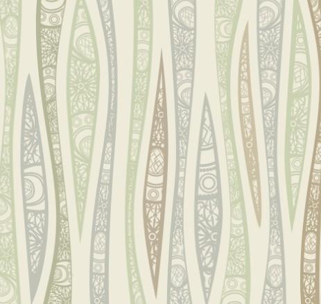 Vintage Floral Pattern Vector Background 04