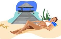 Vector Cartoon Happy Summer Day Design Elements 02