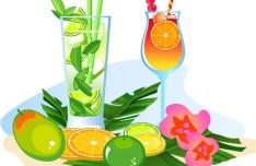 Vector Cartoon Happy Summer Day Design Elements 04